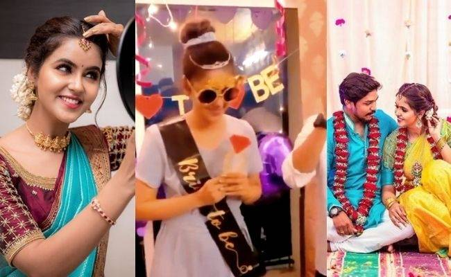 Actress Chaitra Reddy viral bridal shower video is trending
