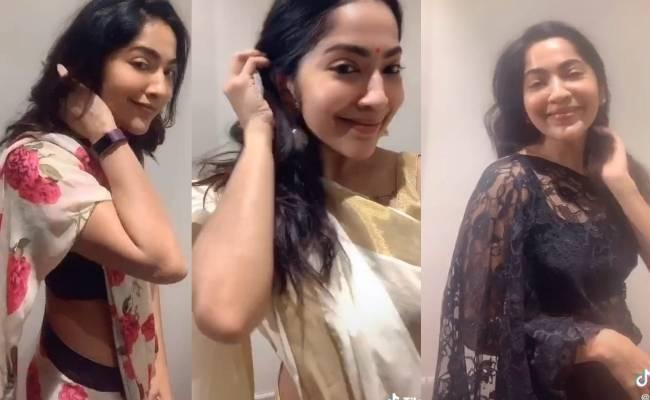 Actress Ramya posts TikTok video of popular song in 3 languages