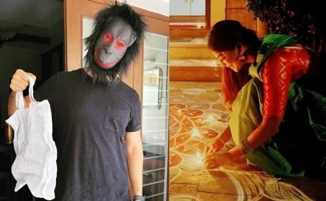 Actress Vijayalakshmi shares funny picture of Husband Feroz
