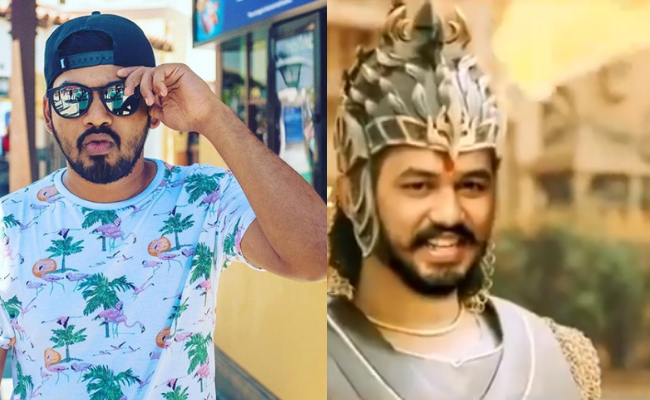 "Adhi reacts to ""What if HipHop Tamizha composed music by Baahubali"" video"