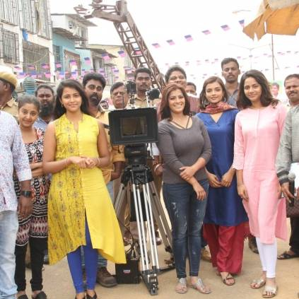 After Trisha's film, Sundar Balu sets out with Varalaxmi, Aishwarya Dutta, Ashna Zaveri, Subiksha for Kannitheevu