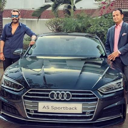 Ajay Devgn wins an audi A5 car for answer of the season in Koffee with Karan