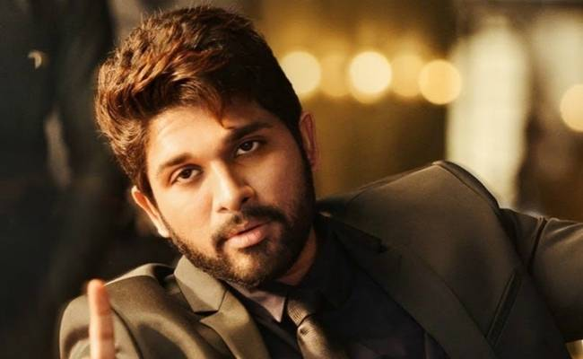 Allu Arjun takes to Twitter to update about his health