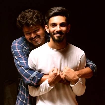 Anirudh tweets about Thalapathy Vijay's Master first single Oru Kutti Katha Lokesh Kanagaraj
