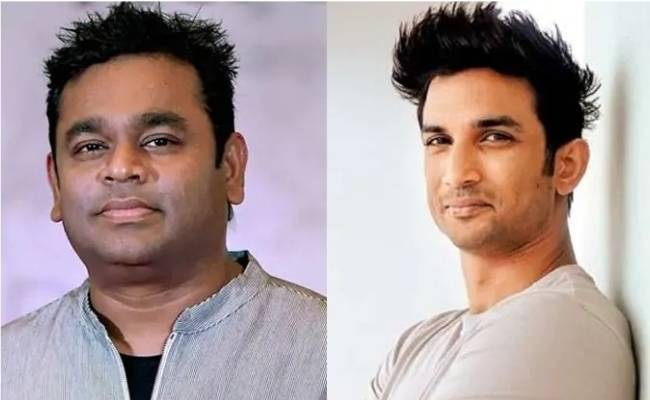 AR Rahman composes music for Sushant Singh Rajput last film