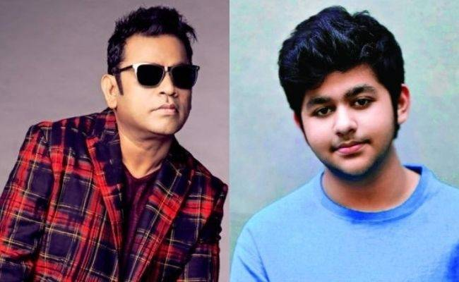 AR Rahman gets vaccinated along with his son; shares a cute pic - Fans excited