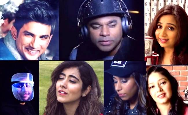 AR Rahman's musical Dil Bechara tribute to Sushant Singh Rajput is going viral, Shreya Ghoshal, Sunidhi