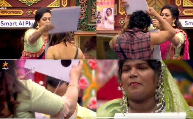 Archana gives tags to fellow contestants Bigg Boss Tamil