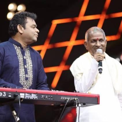 A.R.Rahman praises Ilaiyaraaja for his good character