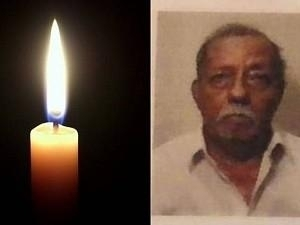 Art director Rajeevan's father passed away; Condolences pour in!