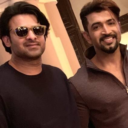 Arun Vijay wraps up his shooting for Prabhas' Saaho, movie to release on August 15th