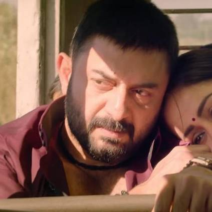 Arvind Swami receives award from Rajiv Menon, speaks about Simbu, Vijay Sethupathi, and CCV cast