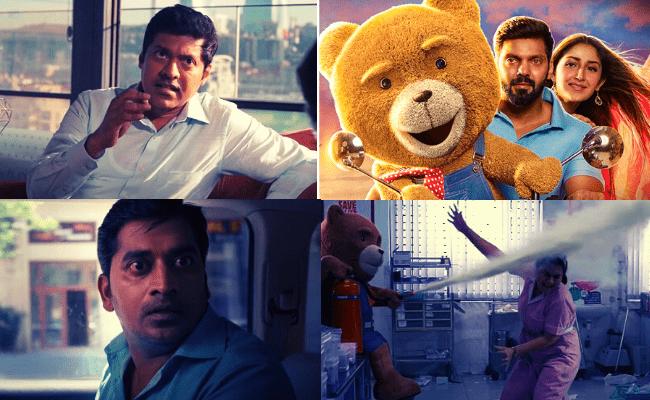 Arya, Sayyeshaa and Magizh Thirumeni's Teddy trailer out