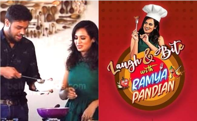 Behindwoods launches cooking show Laugh Bite with Ramya Pandian