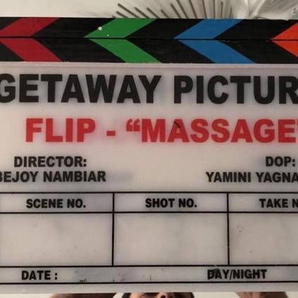 Bejoy Nambiar's next film titled Massage