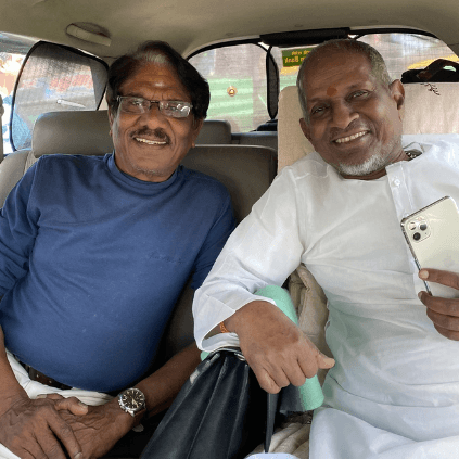 Bharathiraja meets Isaignani Ilayaraja after a long gap- picture goes viral