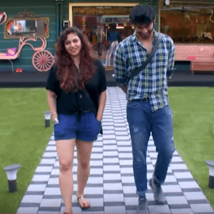 Bigg Boss promo featuring Darshan and Sherin romance