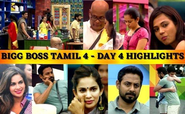 Bigg Boss Tamil 4 Day 4 - October 7 Daily review - Episode highlights