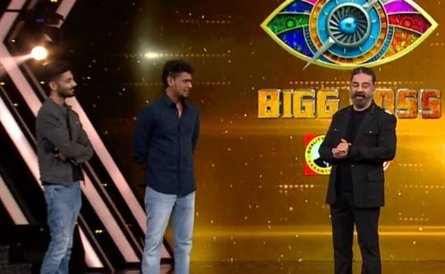 Bigg Boss Tamil 4 Lokesh and Anirudh in the house