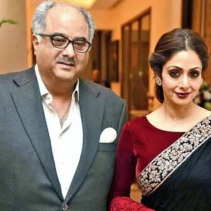 Boney Kapoor's heartfelt post on Sridevi's birth anniversary