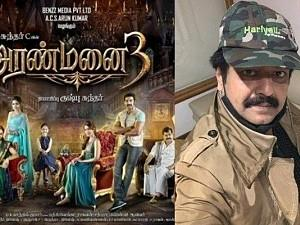 Brand new stills from Sundar C's Aranmanai 3 & unseen pic of Vivekh is sure to stir up your emotions!