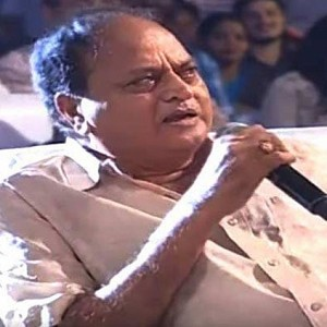 """I don't even understand what's wrong in my statement"" - Chalapathi Rao"