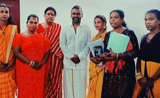 Chandramukhi 2 hero Raghava Lawrence makes a glorious promise to the transgenders, netizens amazed
