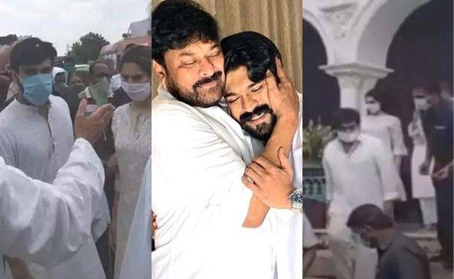Chiranjeevi, Ram Charan attacked by a swarm of bees