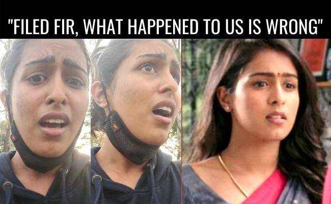 Comali fame Samyuktha reacts on attack incident in park - latest news