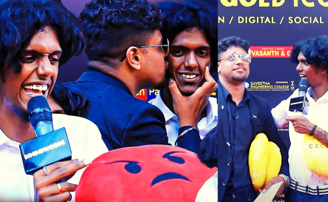 Cook With Comali Bala's unstoppable counters leaves host speechless in Behindwoods Gold Icons