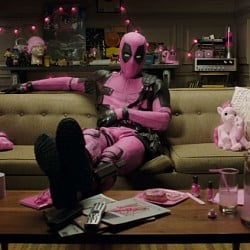 Deadpool promo video for cancer awareness