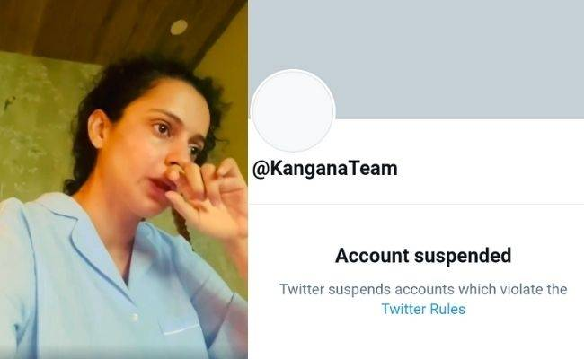 Details - Why Kangana Ranaut twitter account suspended