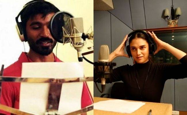 Dhanush and Aditi Rao Hydari song Kaathodu Kaathanen promo video released for GV Prakash's Jail