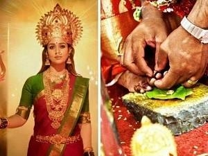 Yay! Wedding Bells for Mookuthi Amman fame - Wishes pour in!