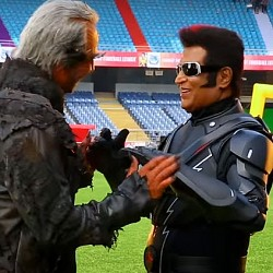 DVV Entertainments Tweets about Mahesh 24 and Rajinikanth's 2point0