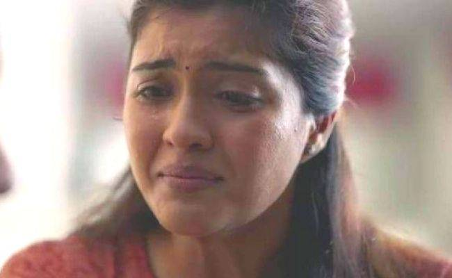 """""""Edhuku...?"""" - Amritha Aiyer goes into tears; posts this viral message and video"""