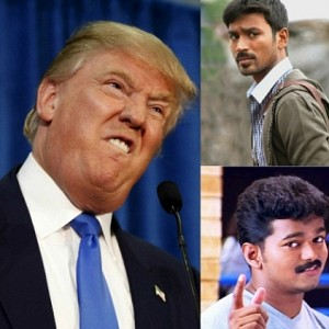 How is Trump affecting Vijay and Dhanush?