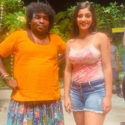 Exciting update on Yashika, Yogi Babu's Zombie movie