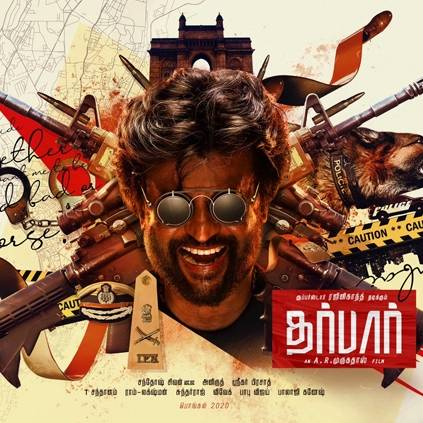 First look poster of Rajinikanth-AR Murugadoss' Thalaivar 167 Darbar is here