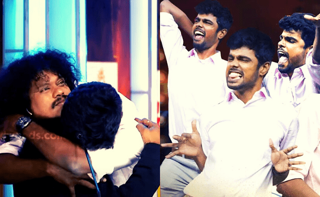 From crying on Pugazh's shoulders to dancing; here's Micset Sriram's exclusive video from Behindwoods Gold Icons