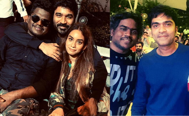 From Dhanush to STR, look what magic the duo recreated in Yuvan Shankar Raja's midnight birthday party; viral video