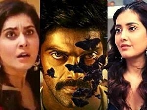 """""""Ghost was sitting in the corner... That night..."""" - Raashi Khanna reveals spooky moments from Aranmanai 3 shoot!"""