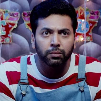 Glimpse of Jayam Ravi and Kajal Aggarwal's Comali is here