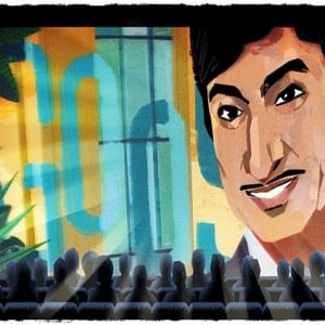 Google pays tribute to this superstar!