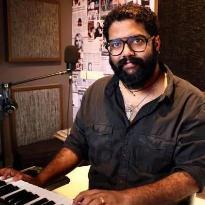 Govind Vasantha announces his next project as music director