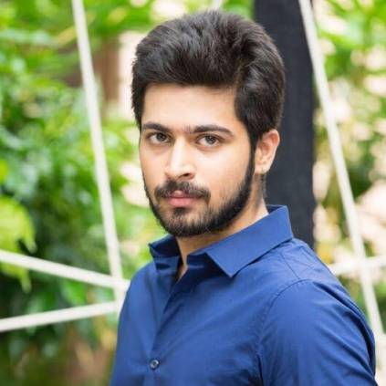 Harish Kalyan posts about his connection with the Nani-starrer Telugu film Jersey