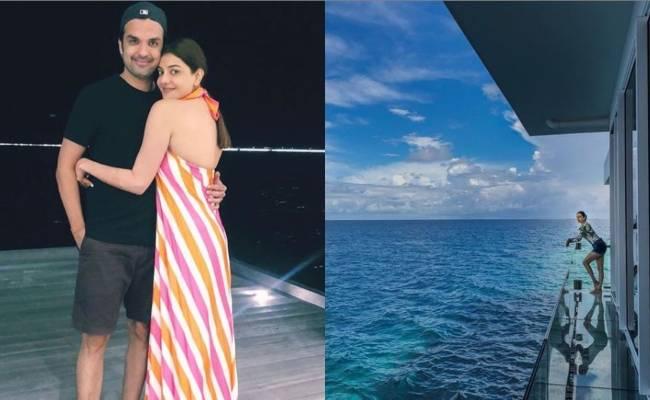 Kajal Aggarwal Honeymoon pics taken by husband Gautam