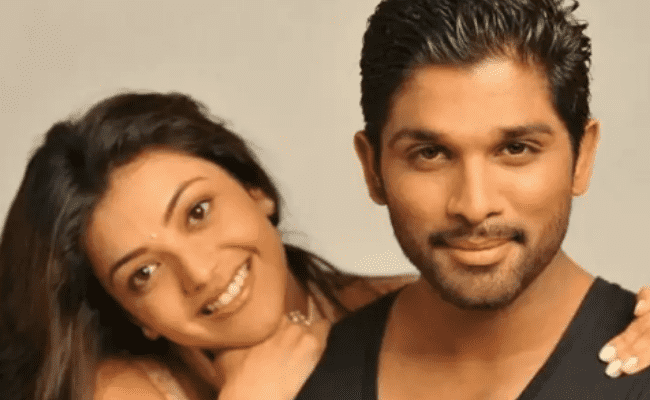 Kajal Aggarwal's birthday with to Allu Arjun with throwback pictures