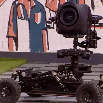 Kamal Haasan named a technical equipment in Bigg Boss 3 as Chakravarthy or Chakry