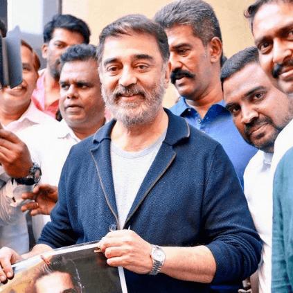 Kamal Haasan's bearded salt an pepper look is going viral